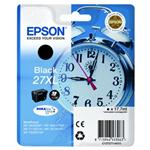 Epson 27XL Blækpatron Original sort - T2711